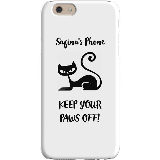 PAWS OFF PHONE CASE