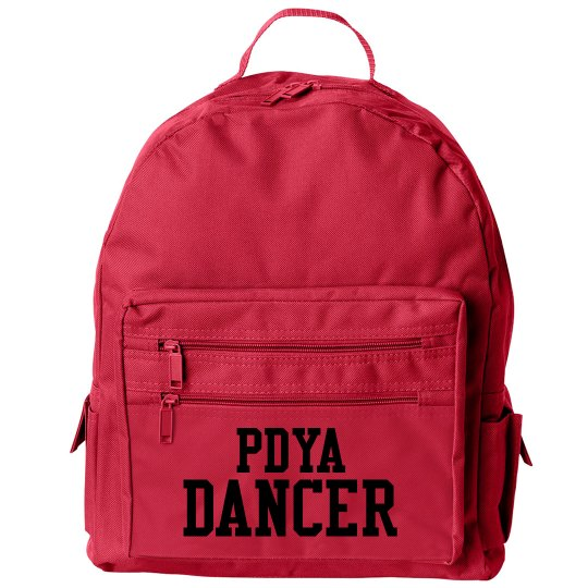 PDYA Dancer Back Pack!