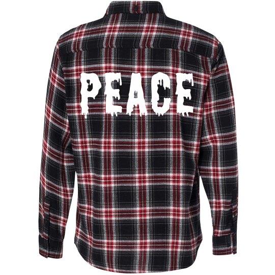 Peace Flannel & Grunge