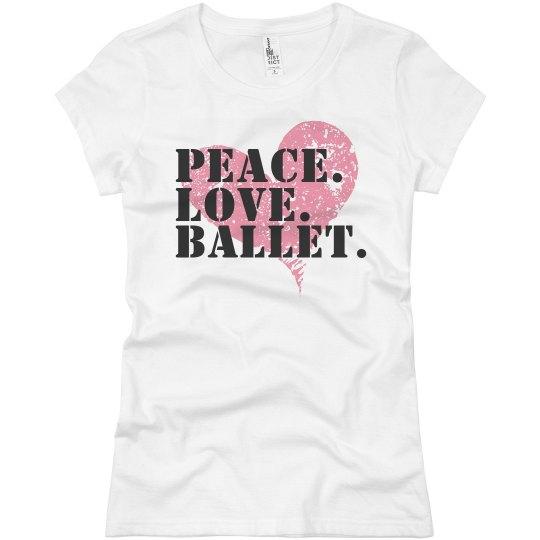 Peace Love Ballet