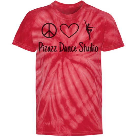 Peace love dance