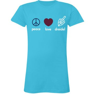 Peace, Love, Dreidel