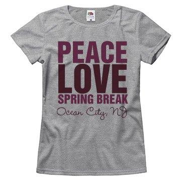 Peace Love Spring Break