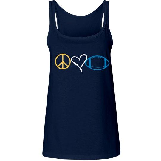 Peace, Love,Football