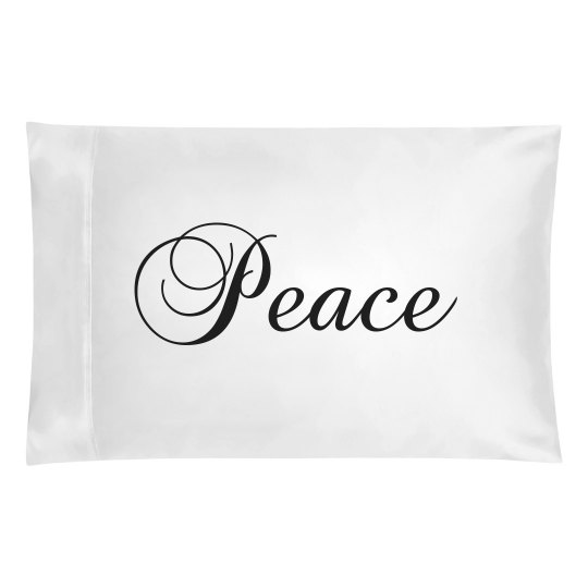 Peace Pillowcase