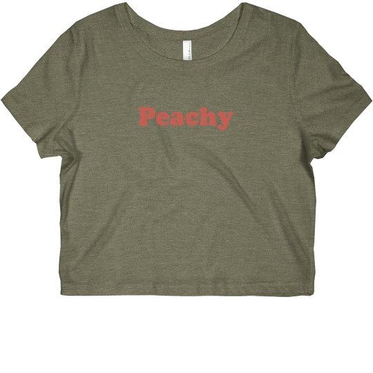Peachy crop
