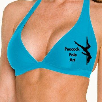 Peacock Bikini Top