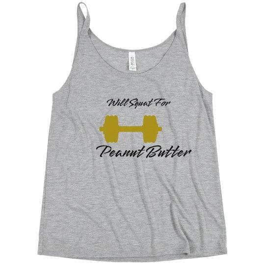 Peanut Butter Squat