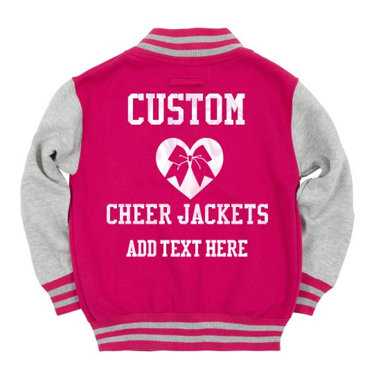 Pearl White Custom Cheerleader