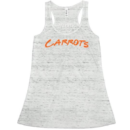 """Peas & Carrots """"Carrots"""
