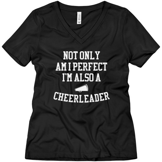 Perfect and a cheerleader