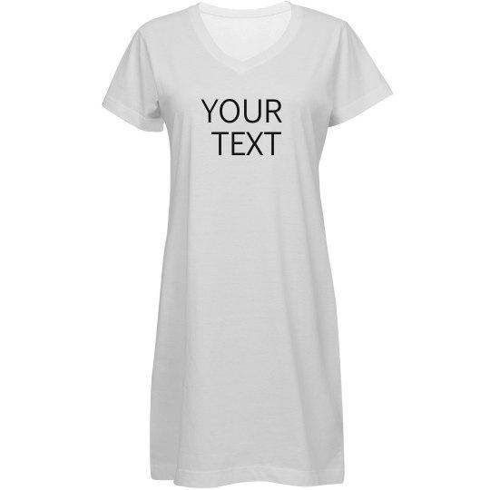 Personalize a Custom Dress