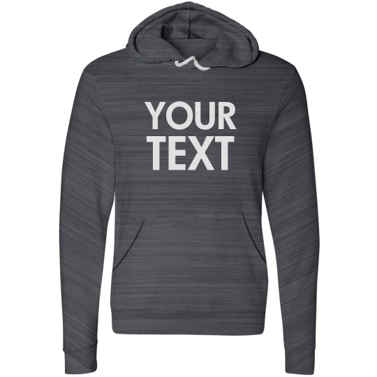 Personalize a Fleece Hoodie