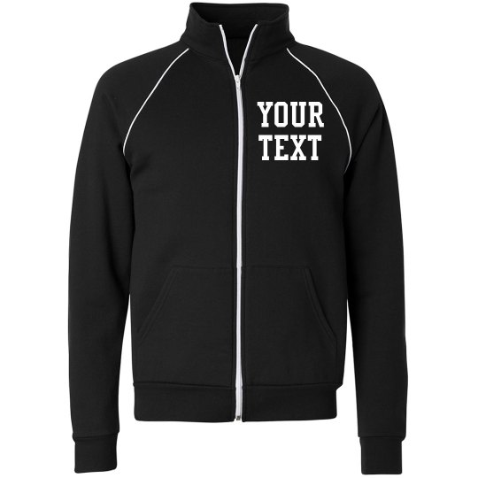 Personalize a Fleece Track Jacket