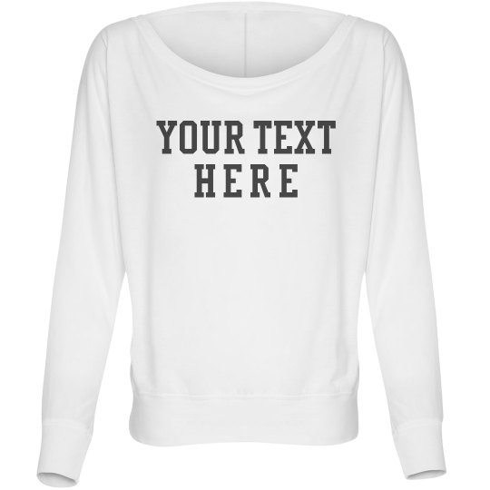 Personalize this Dolman Tee
