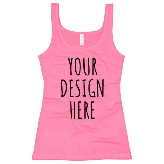 Personalize this Neon Tank