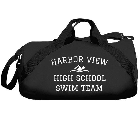 Personalize This Swim Team Design