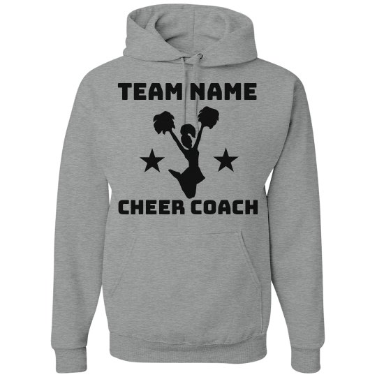 Personalize Your Own Cheer Coach Sweatshirt