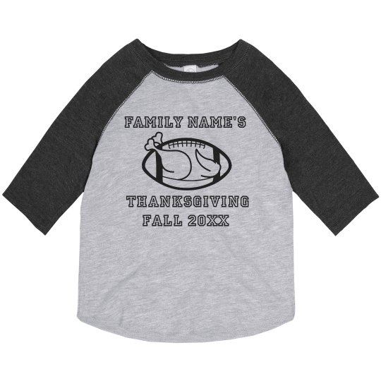 Personalize Your Own Family Thanksgiving Tee