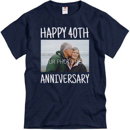 Personalized 40th Anniversary Group