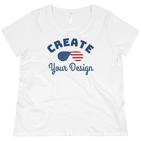 Personalized 4th Of July Plus Size