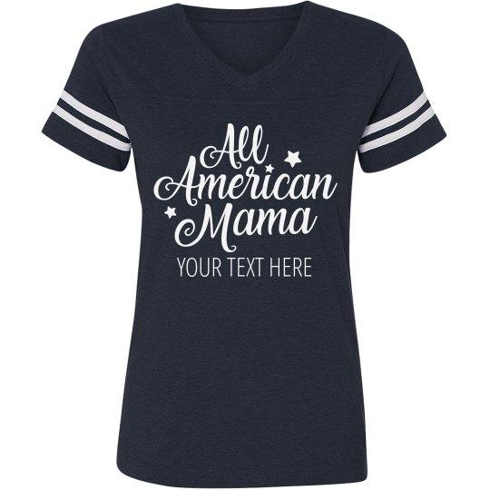 Personalized All American Mama