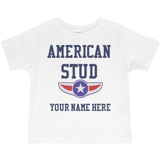 Personalized American Stud