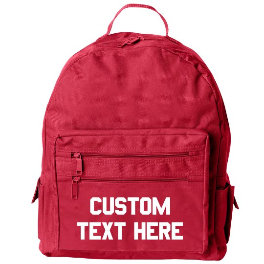 Personalized Back To School Gear