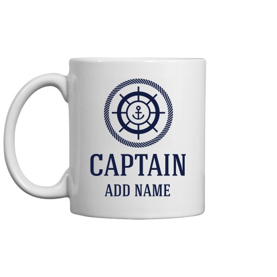 Personalized Captain Father's Day
