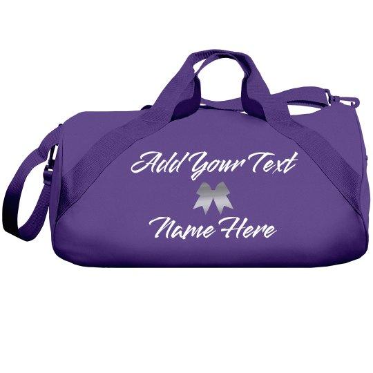 Personalized Cheerleader Gear Bag
