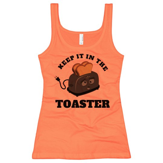 Personalized Color Guard Keep It In The Toaster Tank