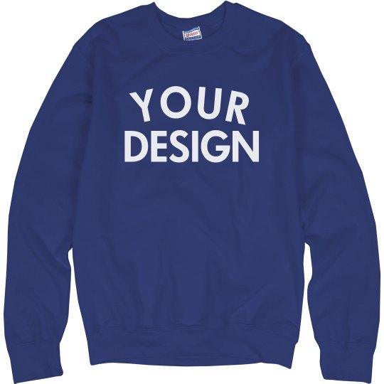 Personalized Comfy Crewneck Sweatshirt