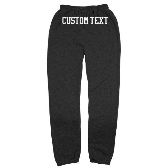 Personalized Cozy Lounge Sweatpants