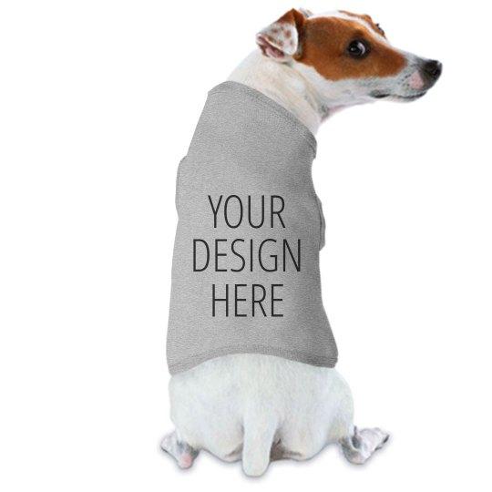Personalized Cute Dog T-Shirt