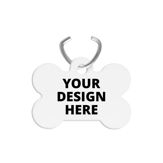 Personalized Dog Bone Pet ID Tags