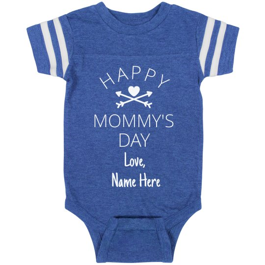Personalized First Mother's Day Bodysuit