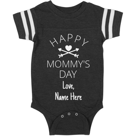 Personalized First Mother's Day Onesie