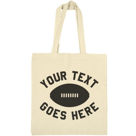 Personalized Football Mom Team Text