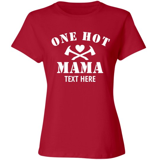 Personalized Hot Mama Tee