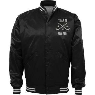 Personalized Ice Hockey Coach Team Jacket