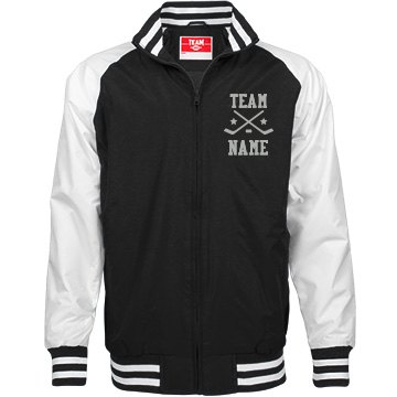 Personalized Ice Hockey Coach Unisex Team Jacket