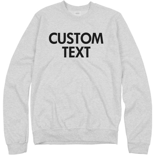 Personalized Knit Pullover
