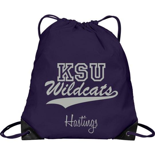 Personalized KSU Bag
