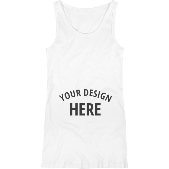 Personalized Maternity Tank Top