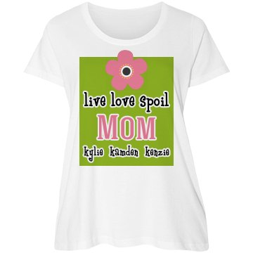 Personalized Mom Tshirt
