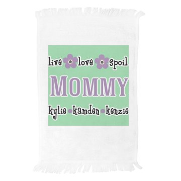 Personalized Mommy Towel