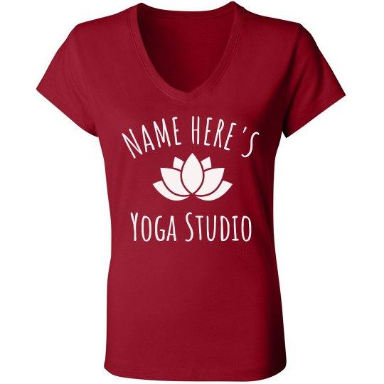 Personalized Name Yoga Studio