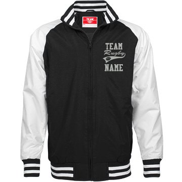 Personalized Rugby Coach Unisex Team Jacket