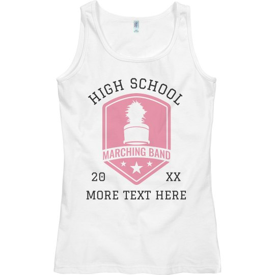 Personalized School Marching Band Tank