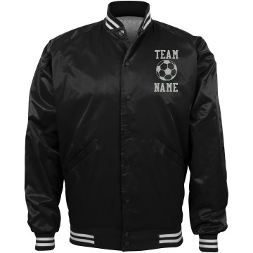Personalized Soccer Coach Team Jacket